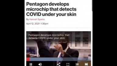 Pentagon Builds Microchip To Detect Covid