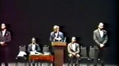 Khalid Abdul Muhammad banned over this speech