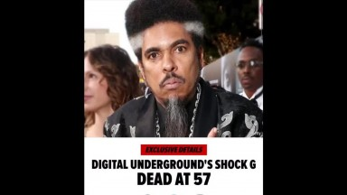 Shock G from Digital Underground dead at 57
