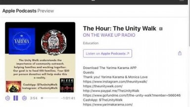 The Unity Walk Interview