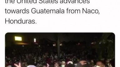 Another Migrant Caravan coming to the US