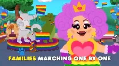 Children's show Blues Clues Endorses Pride