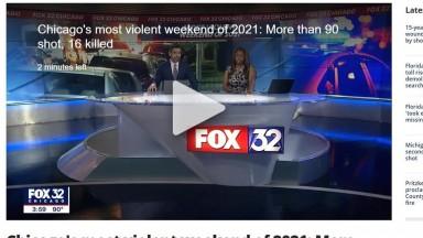 Chicago's most violent weekend of 2021 92 shot 16 killed