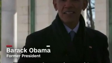 Bush Jr, Obama, and Clinton Talk Biden