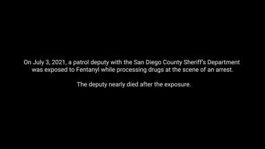 Sheriff OD's on Fentanyl