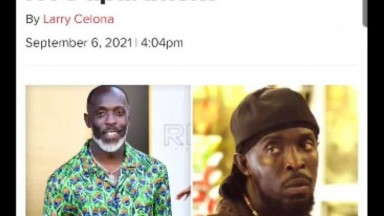 Omar from The Wire Dead at 54