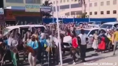Zulus Anti Vaccine Protest