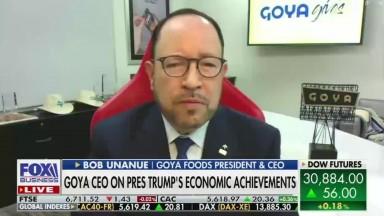Goya President Bob Unanue Talks Economics