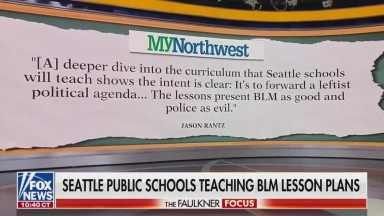 Seattle public schools teach BLM courses