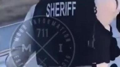 Sheriff Puts Down Assailant