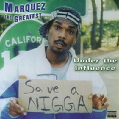 Marquez The Greatest Comedy CD cover